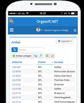 Web-App Orgasoft.NET Anywhere